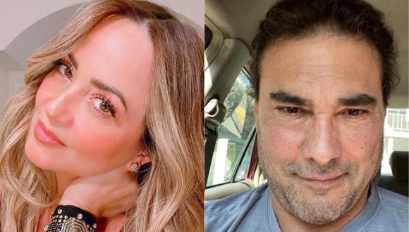 Andrea Legarreta y su reacción tras ser consultada sobre nuevo incidente de Eduardo Yáñez con periodista. (Foto: @andrealegarreta/@eduardoyanezofc)