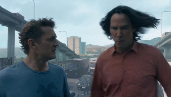 """""""Ted & Bill Face the Music"""", la tercer parte de la franquicia contará la historia de los protagonistas más adultos y con un reto para salvar al universo. (Captura de pantalla / YouTube)."""
