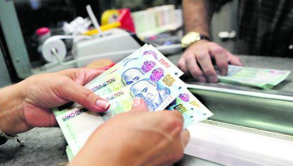 El sueldo mínimo se encuentra actualmente en S/ 930. (Foto: GEC)