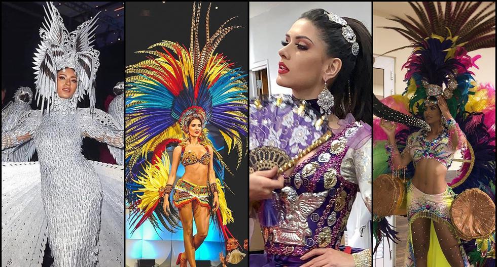 Los trajes típicos más distintivos de Miss Universo 2019. (Foto: Agencias)