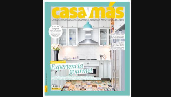 No te pierdas la nueva edición de la revista Casa y Más
