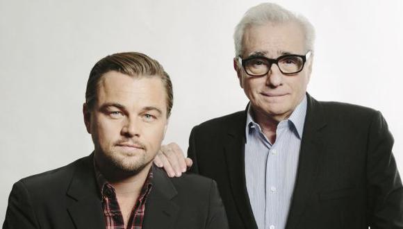 Leonardo DiCaprio y Martin Scorsese. (Foto: Agencias)