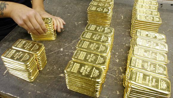 Los futuros del oro en Estados Unidos mejoraban un 0,2%, a US$ 1.869,60 dólares. (REUTERS/Arnd Wiegmann)
