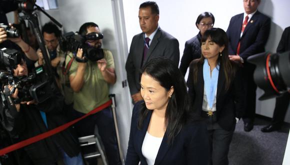 La lideresa de Fuerza Popular, Keiko Fujimori, permanece en el Penal Anexo de Mujeres de Chorrillos desde el 1 de noviembre. (Foto: EFE)