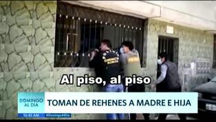 SMP: Asaltantes tomaron de rehenes a madre e hija en casa de apuestas