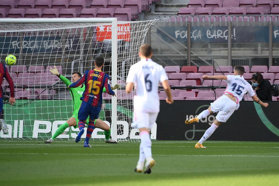 Real Madrid visitó al Barcelona por LaLiga