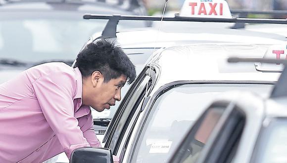 Taxis - Hugo Pérez / El Comercio