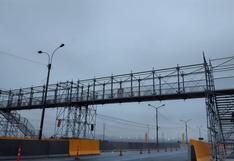 Panamericana Norte: instalan puente provisional tras derrumbe de estructura impactada por tráiler