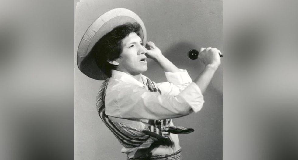 Un joven Eusebio Chato Grados en los inicios de su carrera. (Foto: Archivo del artista)