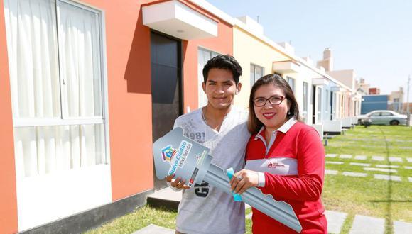 Hasta el final del año 2021, el programa Techo Propio espera beneficiar a 51.000 familias a través de sus tres principales productos: adquisición de vivienda nueva, construcción en sitio propio y mejoramiento de vivienda (Foto: Andina)
