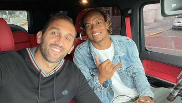 Carrillo y Barcos coincidieron poco tiempo en el Sporting de Lisboa. (Foto: Instagram @barcos)