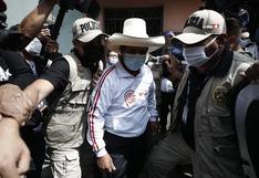 """Pedro Castillo anuncia """"Plan del Bicentenario"""" coordinado por Roger Nájar"""