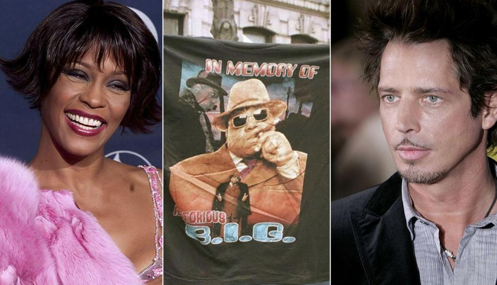 Whitney Houston, The Notorious B.I.G y Depeche Mode entre los nuevos miembros del Salón de la Fama del Rock & Roll. (Foto: AFP)