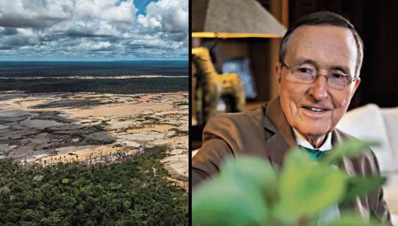 Lovejoy llegó por primera vez a la Amazonía en 1965. Desde entonces, se ha protegido el 50% de su extensión, pero esa cifra –dice– es aún insuficiente para evitar la creciente deforestación. (Foto: Michael T