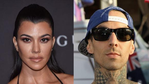 No solo Kourtney Kardashian y Travis Barker han sido amigos durante años, sino también los hijos de ambos pues eran vecinos. (Foto: AFP)