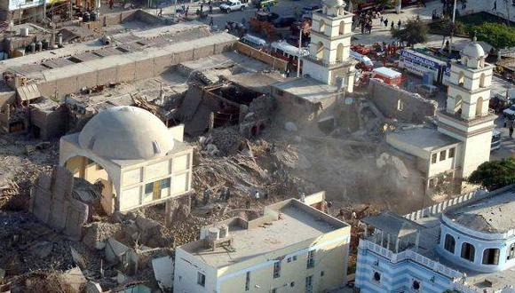 Pisco, a 10 años del terremoto.