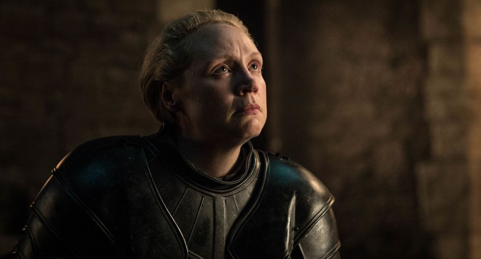 "Brienne de Tarth en el tercer capítulo de ""Game of Thrones"". (Foto: HBO)"