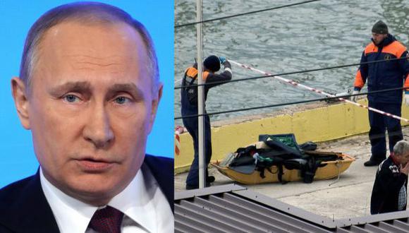 Putin decreta duelo nacional por víctimas de avión siniestrado