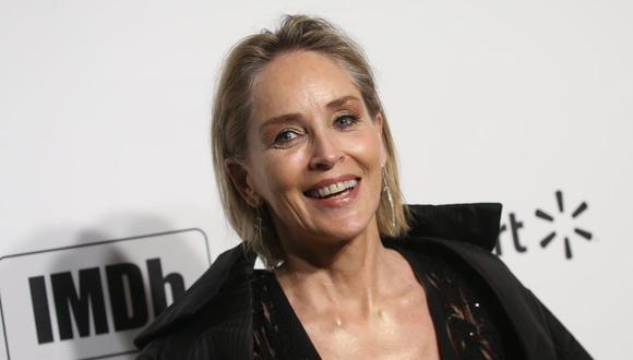 La actriz estadounidense Sharon Stone reveló que un rayo le causó un accidente en casa. (AFP).