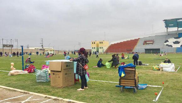 Tacna: vendedores ambulantes fueron reubicados en el distrito Alto de la Alianza (Foto difusión).
