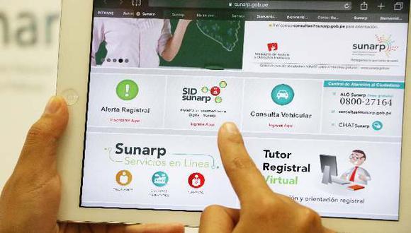 Sunarp dijo que el trámite de poderes a través de plataforma online es obligatoria para Lima y Chiclayo.