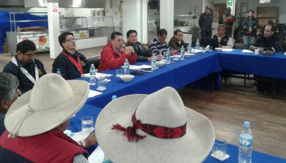 Chumbivilcas: comisión del Ejecutivo se reúne con comuneros