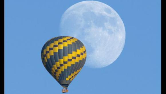¿Por qué a veces la Luna se observa en el día?