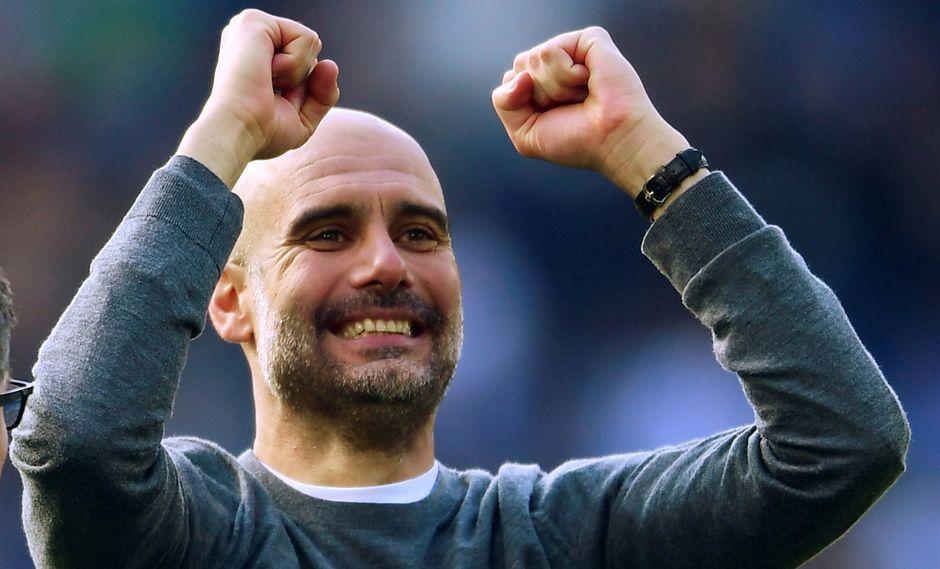 Pep Guardiola vive su cuarta temporada en el Manchester City. (Foto: AFP)