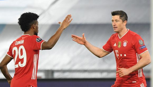Bayern Múnich aplastó a Lazio por 4-1 en el choque de ida de los octavos de final de la Champions League | Foto: Agencias
