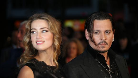 Amber Heard y Johnny Depp (Foto: AP)