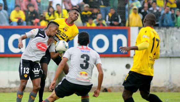 Barcelona de Guayaquil enfrenta este domingo (12:00 m. / EN VIVO ONLINE vía DirecTV) a Aucas en el estadio Gonzalo Pozo, por la primera etapa del campeonato norteño. (Foto: El Marcador)