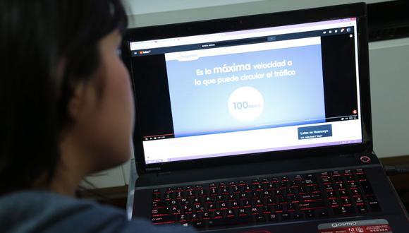 Los peruanos podrán conectarse gratuitamente mediante wi-fi a una velocidad de entre 30 y 40 megabits por segundo. (Foto: GEC)