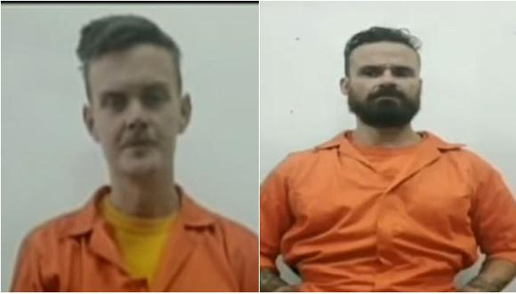Operación Gedeón: Luke Denman y Airan Berry, exsoldados empleados de la contratista militar estadounidense Silvercorp, fueron detenidos  en el segundo intento de incursión de un ataque en las costas de Venezuela donde murieron al menos ocho personas y medio centenar más fueron arrestadas. (Captura de video, VTV).
