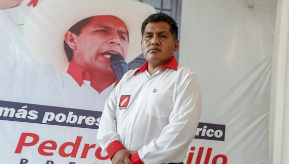 Jaime Quito es el vocero alterno de la bancada de Perú Libre. (Foto: César Campos)