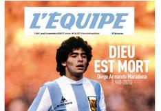 Diego Maradona murió a los 60 años: prensa mundial dedica portadas al 'Pelusa'  | FOTOS