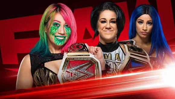 Sigue todas las incidencias de Raw este lunes 6 de julio. (Foto: WWE)