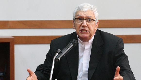 """Arzobispo de Lima, Carlos Castillo, consideró que es """"amoral"""" retrasar la proclamación de Pedro Castillo como presidente. (Foto: Andina)"""