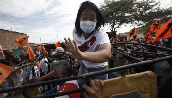 Fujimori se trasladó en mototaxis y camionetas para un recorrido por centros poblados de Piura y Tumbes. (Foto: César Campos)