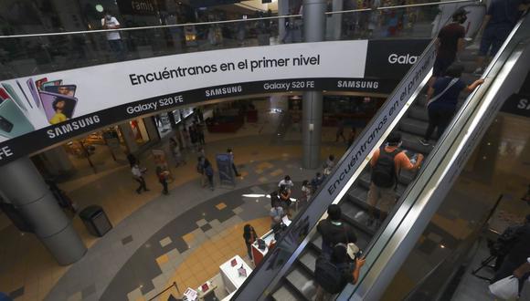 Las ventas en las tiendas por departamento anotaron un crecimiento del más de 6% en enero. (Foto: Gonzalo Córdova / GEC)