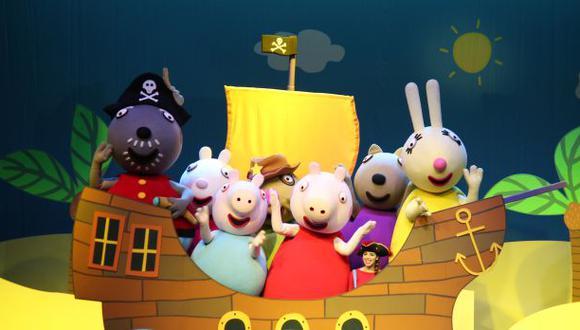"""""""Peppa Pig"""": el éxito mundial de la TV llega a Lima"""
