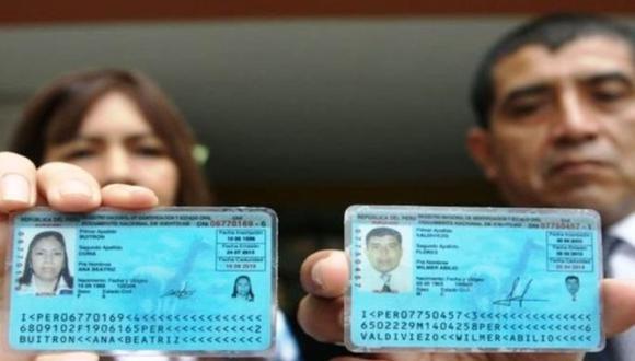 El Documento Nacional de Identidad (DNI) es la única cédula de identidad emitida a ciudadanos peruanos mayores y menores de edad que la Reniec reconoce como válido (Foto: Andina)