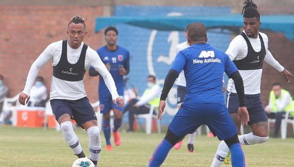 Arroé y Ascues, dos jugadores que han cometido indisciplinas en Alianza. (Foto: Club Alianza Lima)