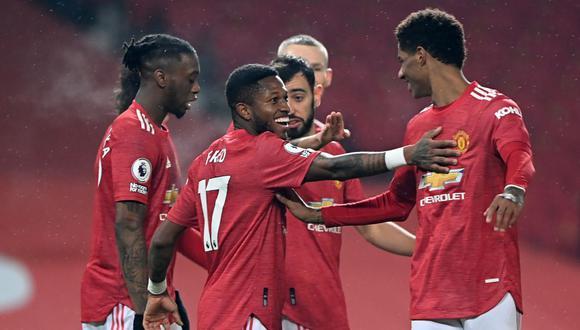 Manchester United goleó 9-0 a Southampton por la jornada 22 de Premier League. (Foto: AFP)