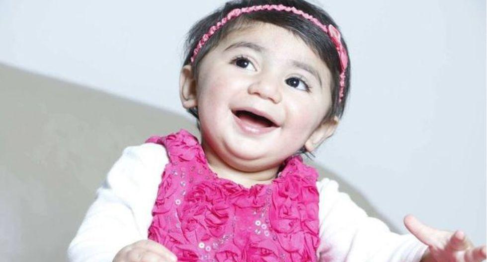 Zainab Mughal fue diagnosticada con neuroblastoma, un tipo de cáncer que suelen padecer los menores de edad. (Foto: DIVULGAÇÃO/ONEBLOOD)
