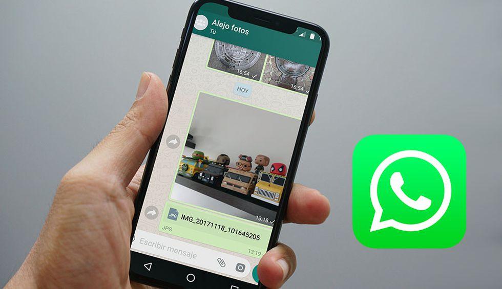 Conoce por qué son distintas las fotos que envías por WhatsApp a otra persona. (Foto: WhatsApp)