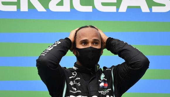La polémica de Lewis Hamilton por una publicación relacionada con el coronavirus. (Foto: AP)