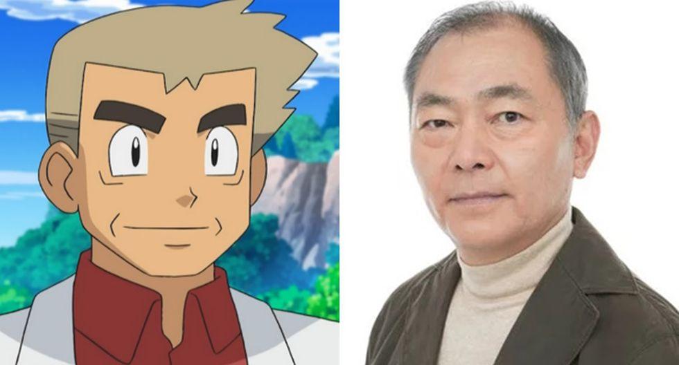 """Unshō Ishizuka, además de interpretar al profesor Oak de """"Pokémon"""", fue Jet Black de """"Cowboy Bebop"""". (Fotos: TV Tokyo/ ANN)"""