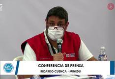 """Ricardo Cuenca: """"Volver a clases también es un compromiso por la equidad y una lucha frontal contra las desigualdades"""""""