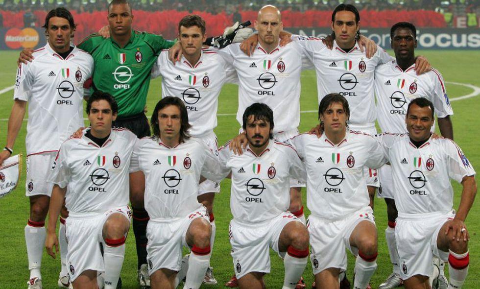 Cafú formó parte de un Milan plagado de estrellas. (Foto: Agencias)