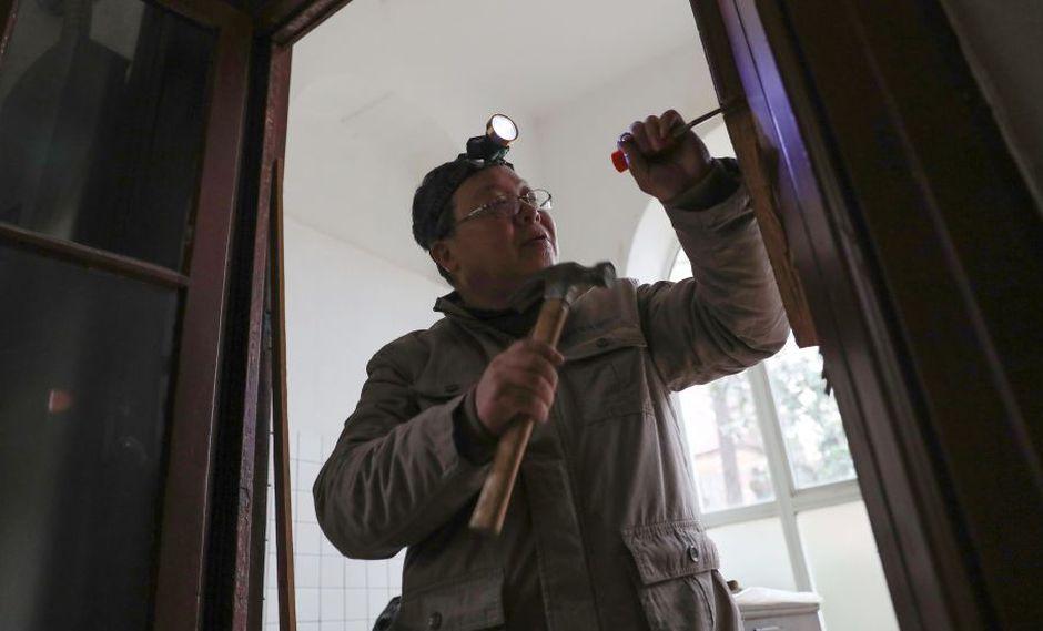 """""""No digo que la modernización no esté bien, solo que los edificios históricos deben conservarse"""", asegura Ma Jiale. (Foto: AFP)"""